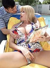 Penny Porsche takes the cock