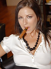 Hot big titty babe maria bellucci gets her coochi pounded hard by a big cock in these office fucking pics