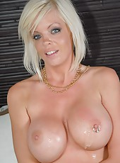 Milf babe phoneix and hunter get their slammin bodies pounded by huge hogs in these hot clips