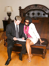 Amazing huge titty babe ceo gets to work on a hard cock in the office in these sexy fucking pics