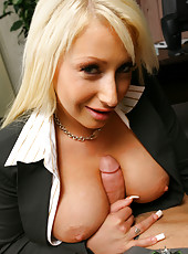 This blonde ceo is gettin nailed dirty style in these hot pics