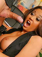 Check out this amzing hot asian big tit boss that demands to get fucked