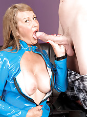 Trisha Swallows, But First She Gets Ass-fucked