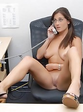 Check out these hot milfs in these office orgies