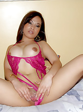 See my wife get naked and pose for me in these hot stripping amateur pics