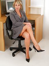 Mature Secretary Explicit 108