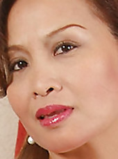 Asian goddess Maya looks great at 44 and even better naked