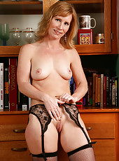 Cheyanne shows off her gorgeous 41 year old pussy in this one