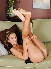 30 year old Angelica Lane shows off her tight mature ass and sexy feet