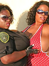 Jenny Hill and Simone Fox two tit titans