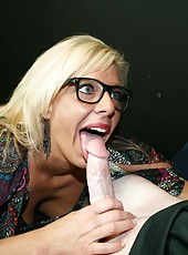 Carey Riley Blowjob