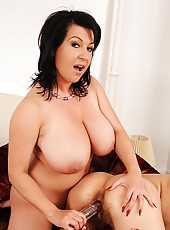 Big breasted lesbian lovers fucking