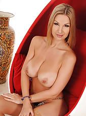 Czech stunner Carol stripping nude