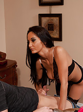 Gorgeous MILF Ava Addams seduces her son