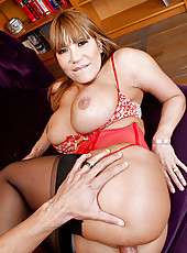 Ava Devine begs for her mans big cock