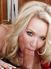 Sexy MILF Rachel Love fucks her husband