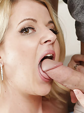 Anita Blue fucks and sucks a hard dick.