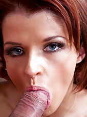 Joslyn James rides a hard cock like a pro