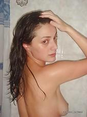 Sexy brunette wife looking very fuckable
