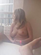 Kinky amateur naked sexy MILF