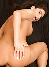 Gorgeous Aleksa Nicole is a hot housewife who is horny for her husbands cock.