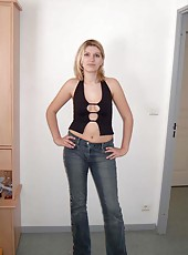 Lovely amateur wife in sexy clothes