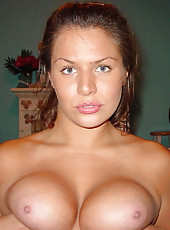 Huge-tittied MILF