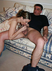 Hot and wild wife gets fucked rough