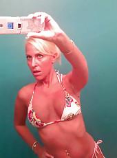 Blonde housewife gone wild