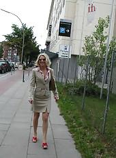 Kinky German MILF doing nasty stuff