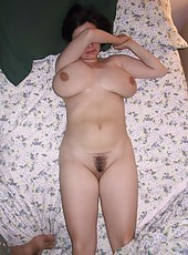 One sexy momma getting naughty