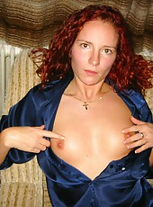 Two kinky MILFs getting naked