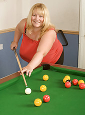 Busty Billiard Hustler