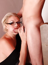 Unbelievably hot mom-next-door gets all of her holes filled