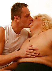 Big old woman savor every second of sex encounter