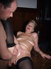 Horny grannies challenge the biggest hard cocks