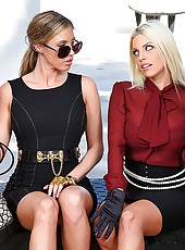 2 amazing hot ass mini skirt babes fucked at a funeral against the wall hot sex samantha saint