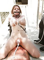 Mature horny slut with huge tits gets humiliated and fucked hardcore!