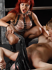 This is scene number 1 off my new DVD, Fifty Shades of Vanessa,