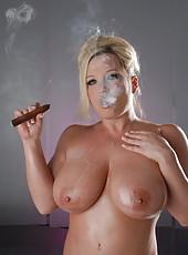 Cigar and Dildo