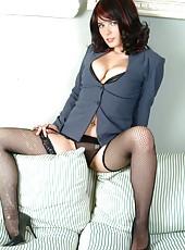 Big Boobs in Stockings