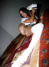 Schoolgirl Angelina
