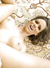 Syren Demer Takes Load On Tits After Cock Ride