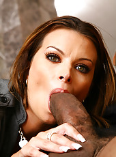 Bailey Brooks Loves This Big Black Cock Fucking Pussy