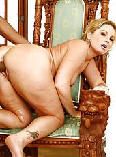 Flower Tucci Slams Her Juicy Slot On Big Black Cock