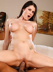 Eva Karera Loves This Big Black Cock Fucking Pussy
