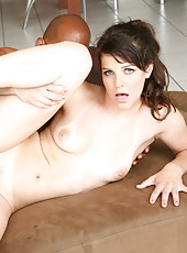 Bobbie Star Crams Huge Black Cock In Tight Snatch