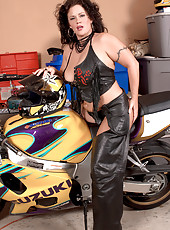 Bad Ass Motorcycle Mama