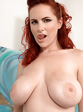 Red Hair, Shaved Pussy