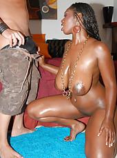 Ebony Pornstar